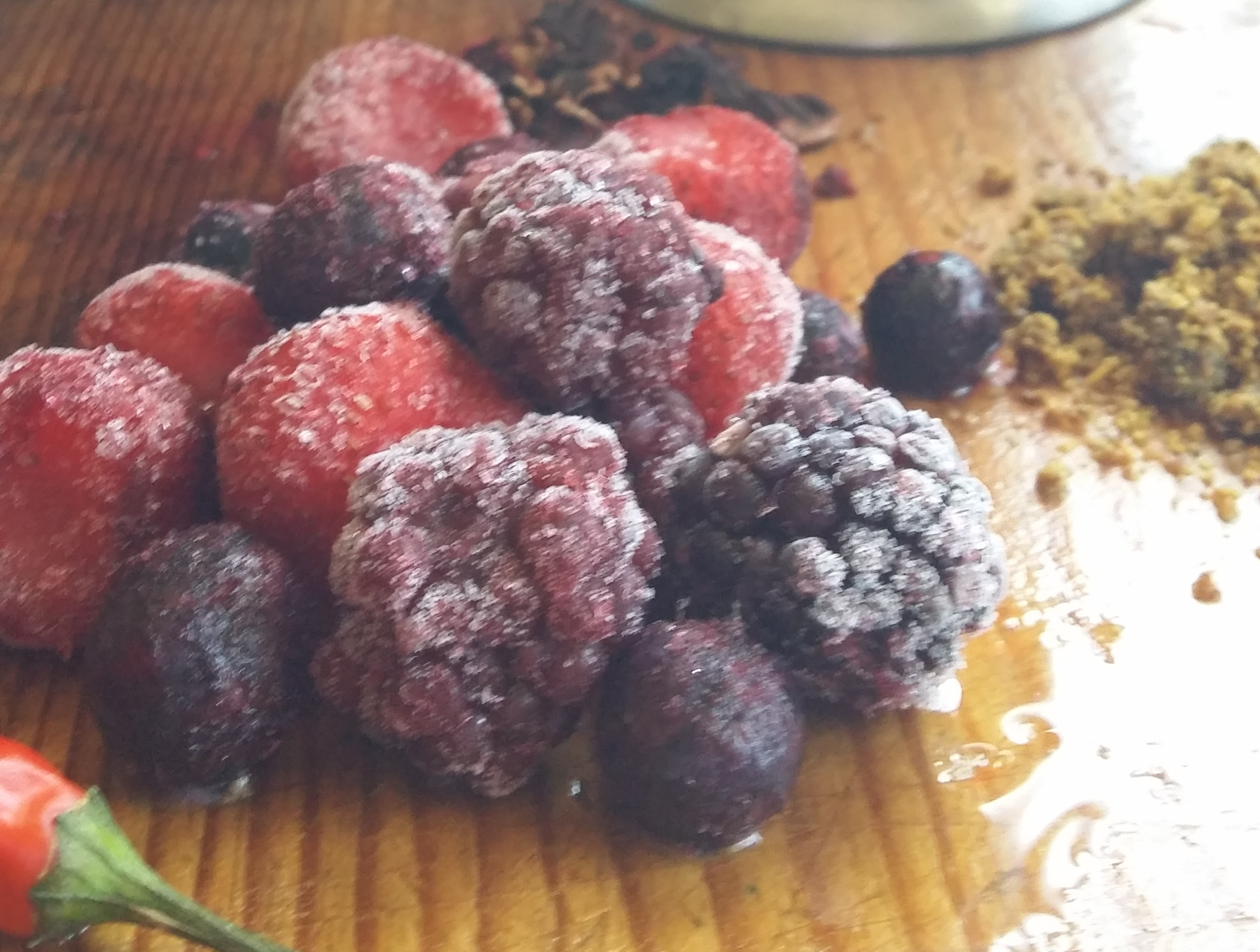 berries from  juanitas kitchen